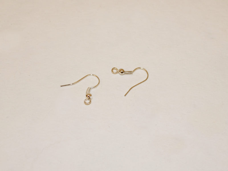 two earring hooks