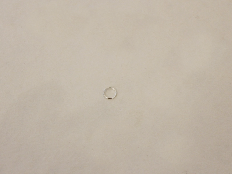 one large jump ring