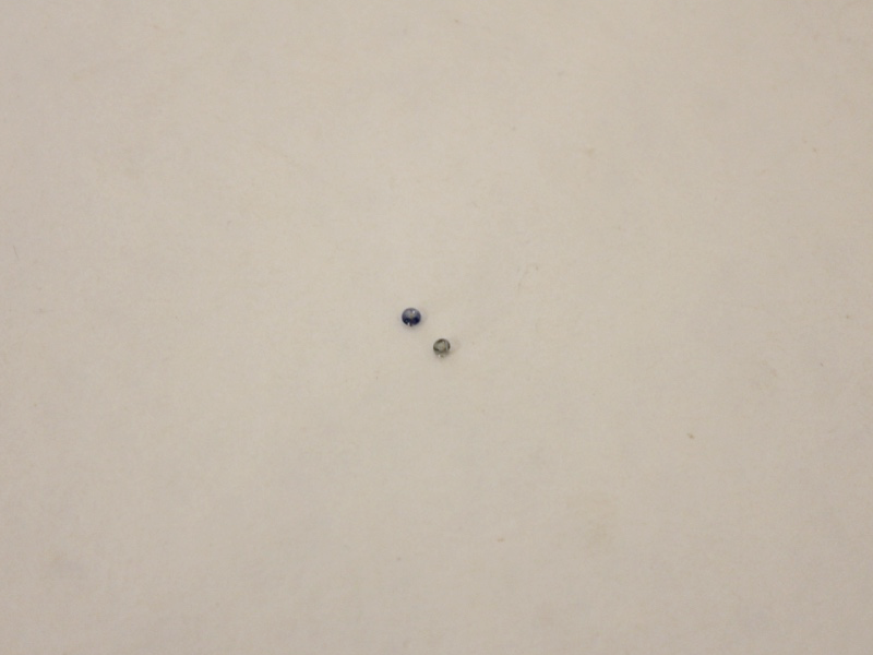 two small beads