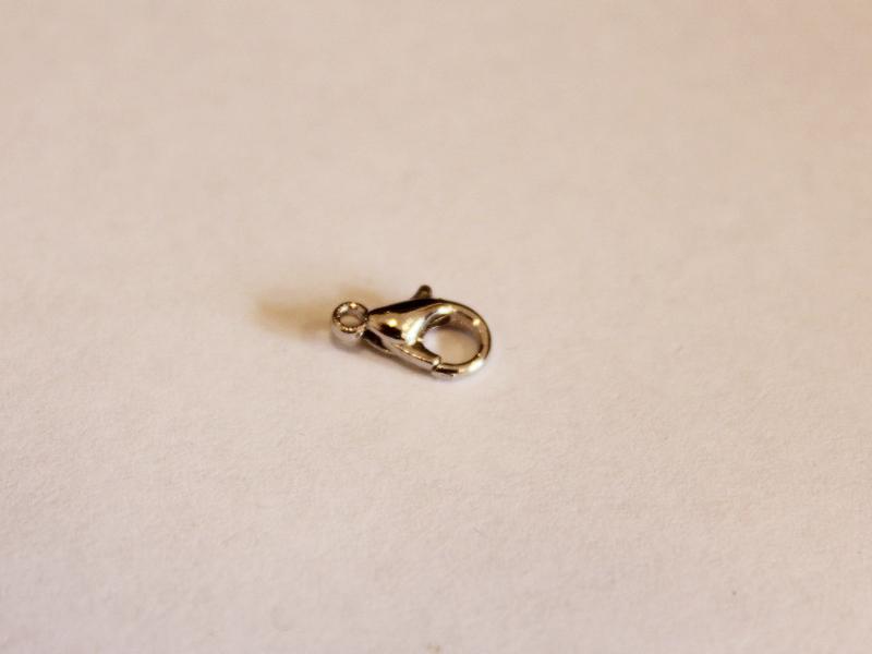 Hot Sale 100pcs Bails Teardrop Connectors Holder Clasps Fit 3mm Cord Findings